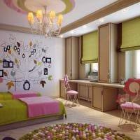 вариант светлого стиля детской комнаты для двоих детей фото