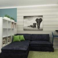 вариант красивого дизайна двухкомнатной квартиры фото