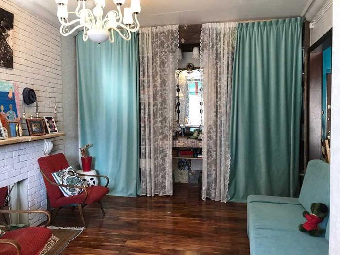 идея необычного интерьера квартиры в советском стиле