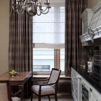 пример светлого дизайна кухни 9 кв.м фото