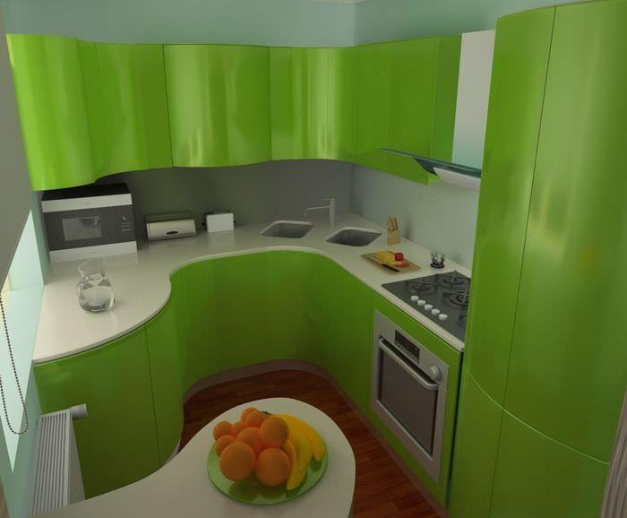идея красивого декора маленькой комнаты