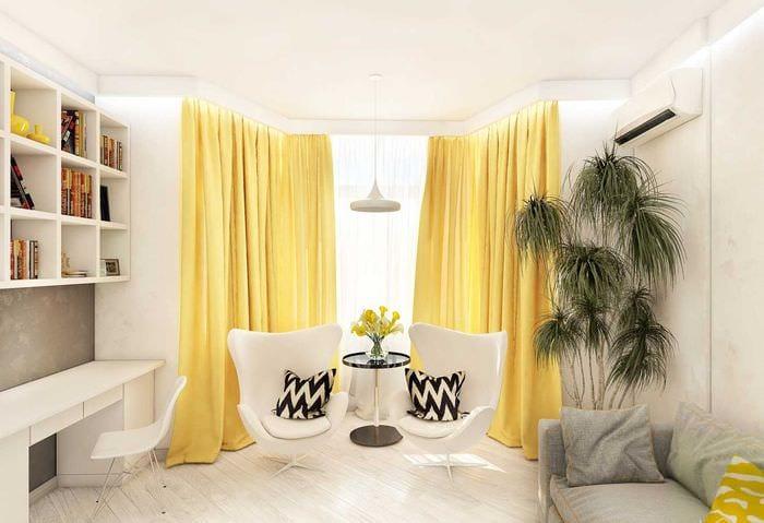 вариант светлого сочетания цвета в декоре современной квартиры