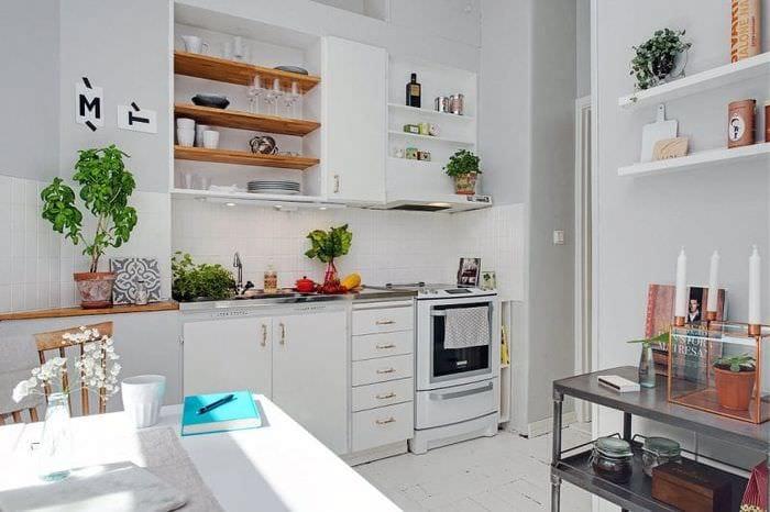 кухня 5 кв метров с декором