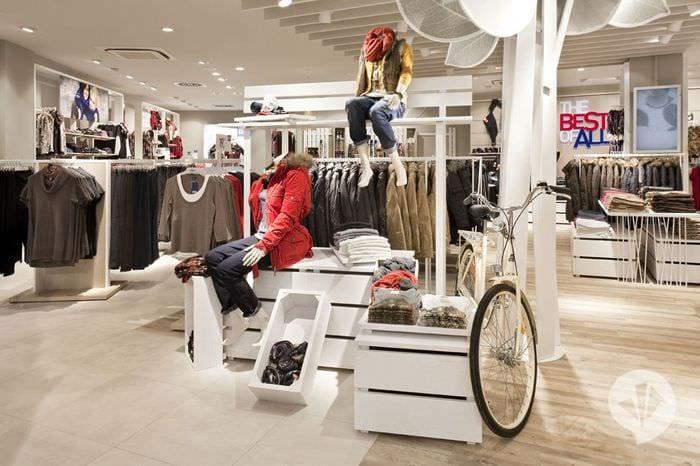 магазин одежды идеи дизайна