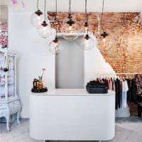 дизайн магазина одежды касса