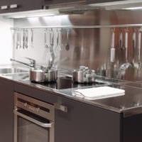 размещение и дизайн малогабаритной кухни