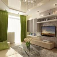 практичный дизайн гостиной