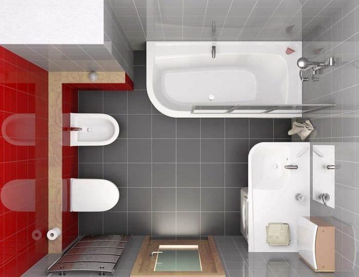 комфортный дизайн ванной