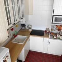 дизайн рабочей зоны кухни 5 квадратных метров