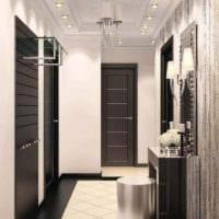 длинный узкий коридор дизайн
