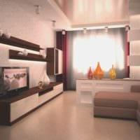 спальня с гостиной