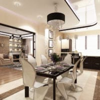 элитный дизайн столовой