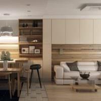 кухня столовая минимализм