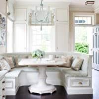 кухня с эркером фото оформление