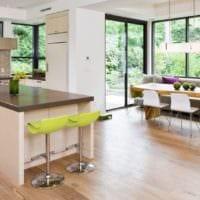 кухня с эркером фото оформления