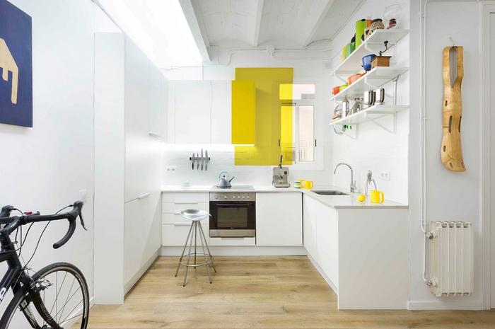 кухня 6 кв м фото