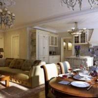 мебель для кухни столовой гостиной