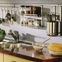 практичный дизайн малогабаритной кухни