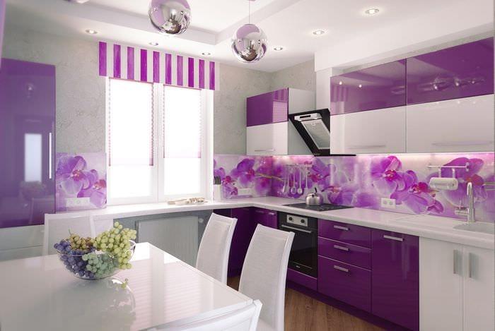 размещение света на кухне