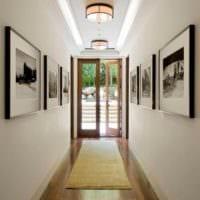 оживляем коридор картинами