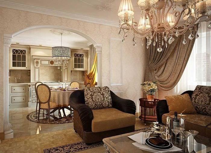 этим кухня гостиная в классическом стиле фото созданы для