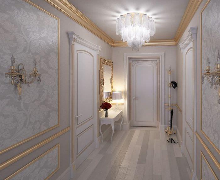 шикарный дизайн коридора