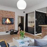 уютные зоны однокомнатной квартиры