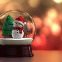 стеклянный шар фото