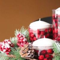 свечи как украшение дома