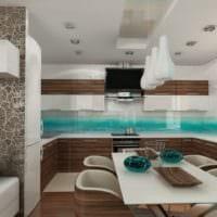 варианты дизайна кухни столовой
