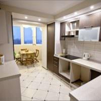 балкон кухня