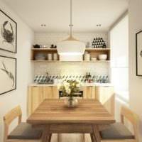 современная кухня 6 кв м