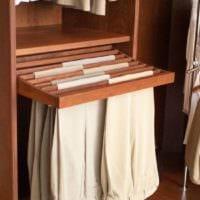 брюки в гардеробной