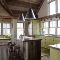 дачная кухня идеи дизайна