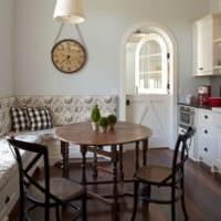 диван на кухне дизайн фото