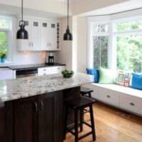 диван на кухне дизайн
