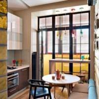 диван на кухне французский стиль