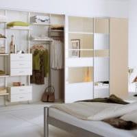 дизайн гардеробной комнаты в доме