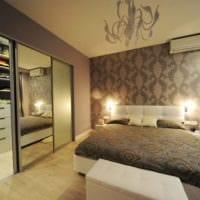 дизайн гардеробной комнаты в интерьере