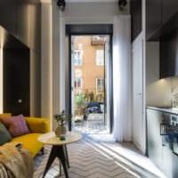 дизайн интерьера маленькой квартиры декор