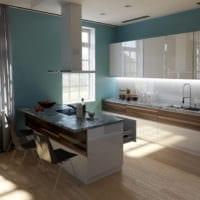 дизайн интерьера маленькой квартиры кухня