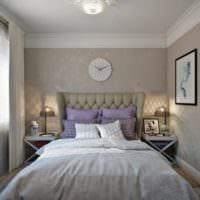 дизайн интерьера маленькой квартиры спальня