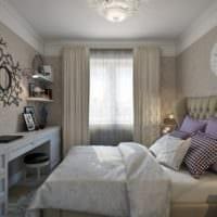 дизайн интерьера маленькой квартиры спальня фото