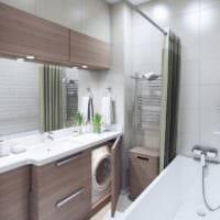 дизайн интерьера маленькой квартиры ванная