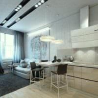 фото идеи кухни с диваном