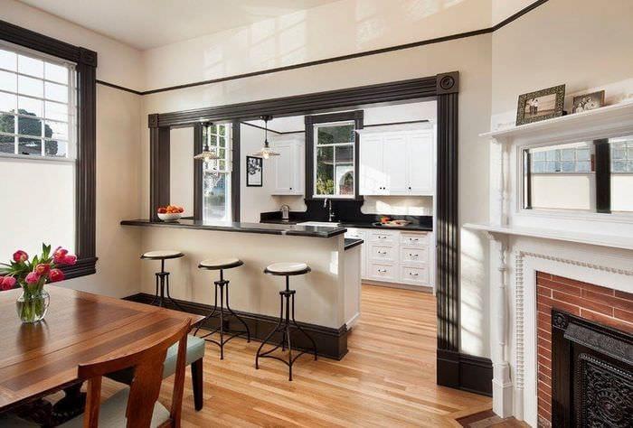 дизайн кухни столовой идеи