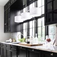 дизайн кухни студии практичный