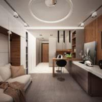дизайн квартиры студии 25 кв
