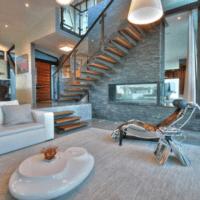 дизайн лестницы в доме идеи фото