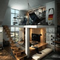 дизайн лестницы в доме оригинальный